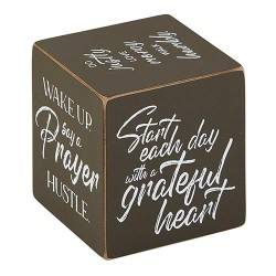 Quote Cube-Grateful Heart...