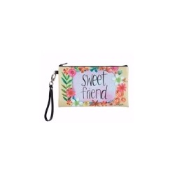Zippered Bag-Sweet Friend...