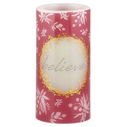 LED Candle-Believe-Gift...