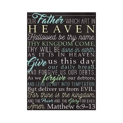 Poster-Large-Lord's Prayer...