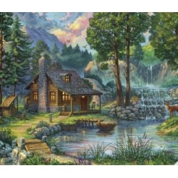 Jigsaw Puzzle-House By The...