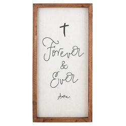 Wall Plaque-Forever And...