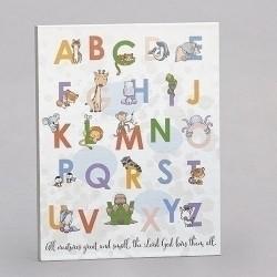 Alphabet Plaque-All...