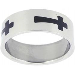 Ring-Malta Cross-Black...