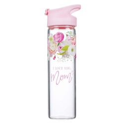 Water Bottle-I Love You  Mom