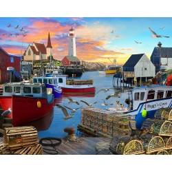 Jigsaw Puzzle-Fishing Cove...