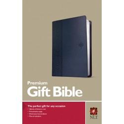 NLT Premium Gift Bible-Blue...