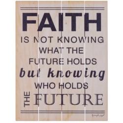 Rustic Pallet Art-Faith (9...
