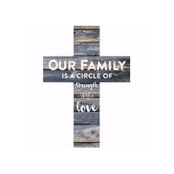 Wall Cross-Our Family-Mini...