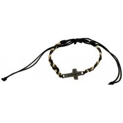 Bracelet-White  Dark Brown...