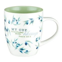 Mug-My Cup Overflows with...