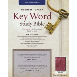 KJV Hebrew-Greek Key Word...