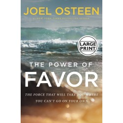 The Power Of Favor Large Print