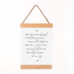 Hanging Sign-Black &...