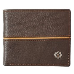 Wallet in Tin-Leather-Hope...