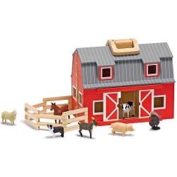 Toy-Fold & Go Barn (10...