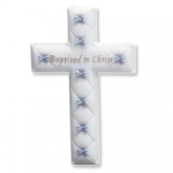 "Wall Cross-Baptism-Boy (6.5"")"