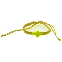 Bracelet-Yellow Cotton...
