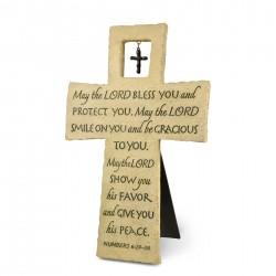 Wall Cross-With Cross-Charm...