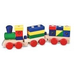 Toy-Stacking Train Toddler...