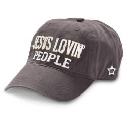Hat-Jesus Lovin' People-Gray