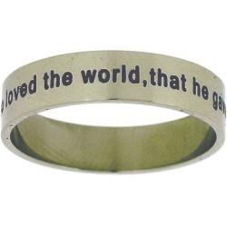 Ring-John 3:16/For God So...