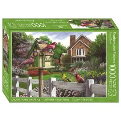 Jigsaw Puzzle-Feathers And...