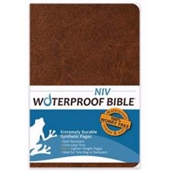 NIV Waterproof Bible-Brown