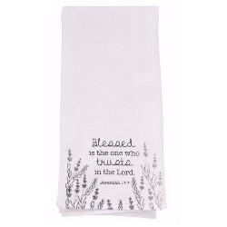 Tea Towel-Blessed