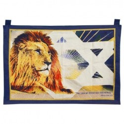 Tapestry-Lion/Star Of David...