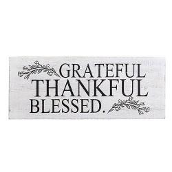 Wall Plaque-Grateful...