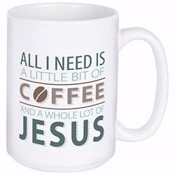 Mug-Coffee And Jesus w/Gift...