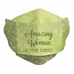 Face Mask-Amazing Woman At...