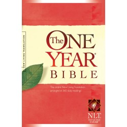NLT One Year Bible-Softcover