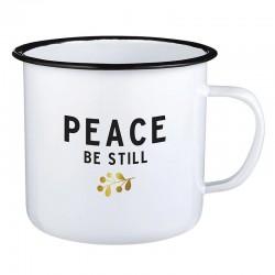 Mug-Enamel-Peace Be Still...