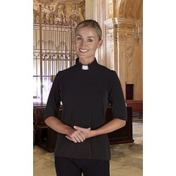 Clergy Shirt-Womens Knit...