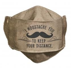Face Mask-I Moustache You