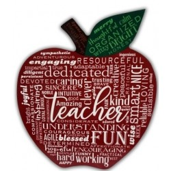 Plaque-Teacher/Apple