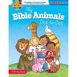 My Bible Animals Dot-To-Dot...