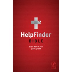 NLT Helpfinder Bible-Softcover