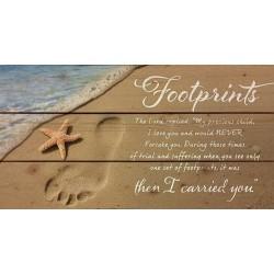 Wall Decor-Lath-Footprints...