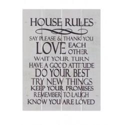 Rustic Pallet Art-House...