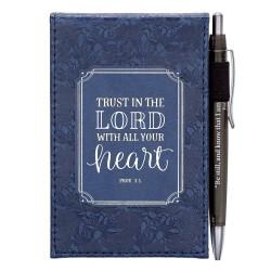 Notepad & Pen Set-Trust In...