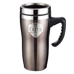 Travel Mug-Faith w/Handle...