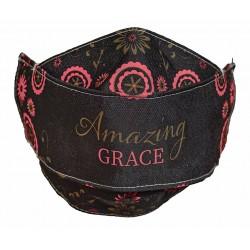 Face Mask-Amazing Grace-Black