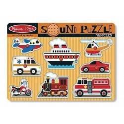 Puzzle-Vehicles Sound...