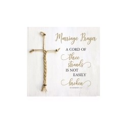 Plaque-Marriage-A Cord Of 3...