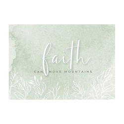 Postcard-Faith Can Move...