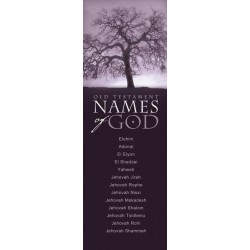 Bookmark-Names Of God In...
