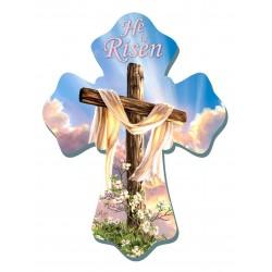 """Wall Cross-He Is Risen (6""""..."""